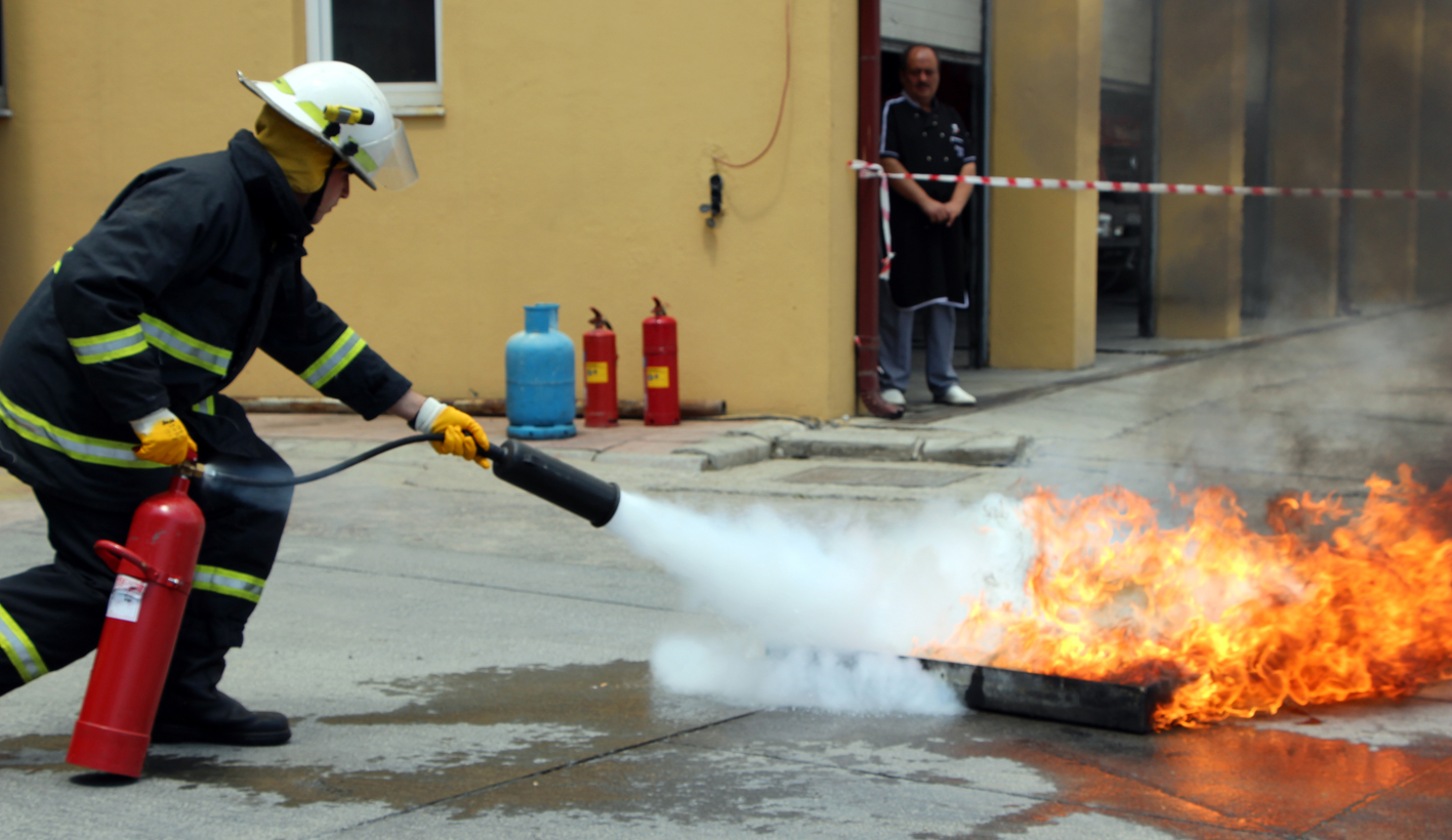 Ankara Yangın Söndürme Sistemleri
