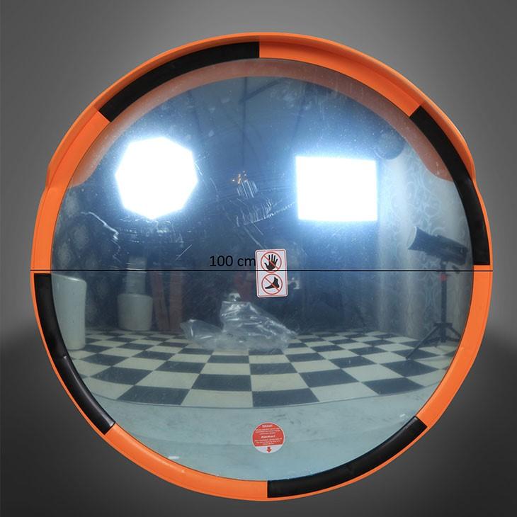 100 cm Çapında Akrilik Güvenlik Aynaları