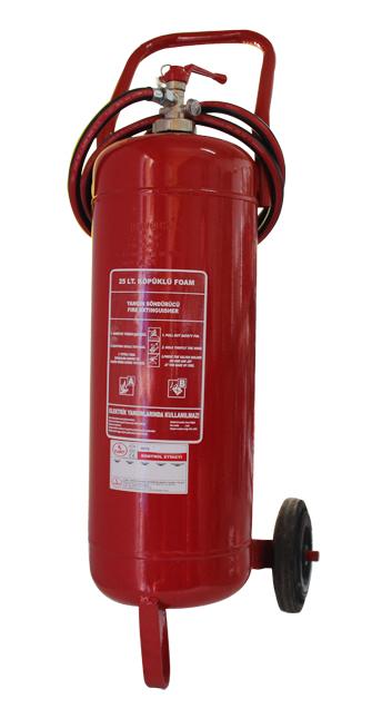 25 LT Köpüklü Yangın Söndürücü