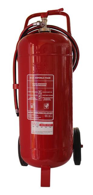 50 LT Köpüklü Yangın Söndürücü